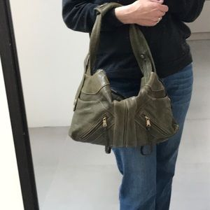 Danier genuine leather shoulder purse